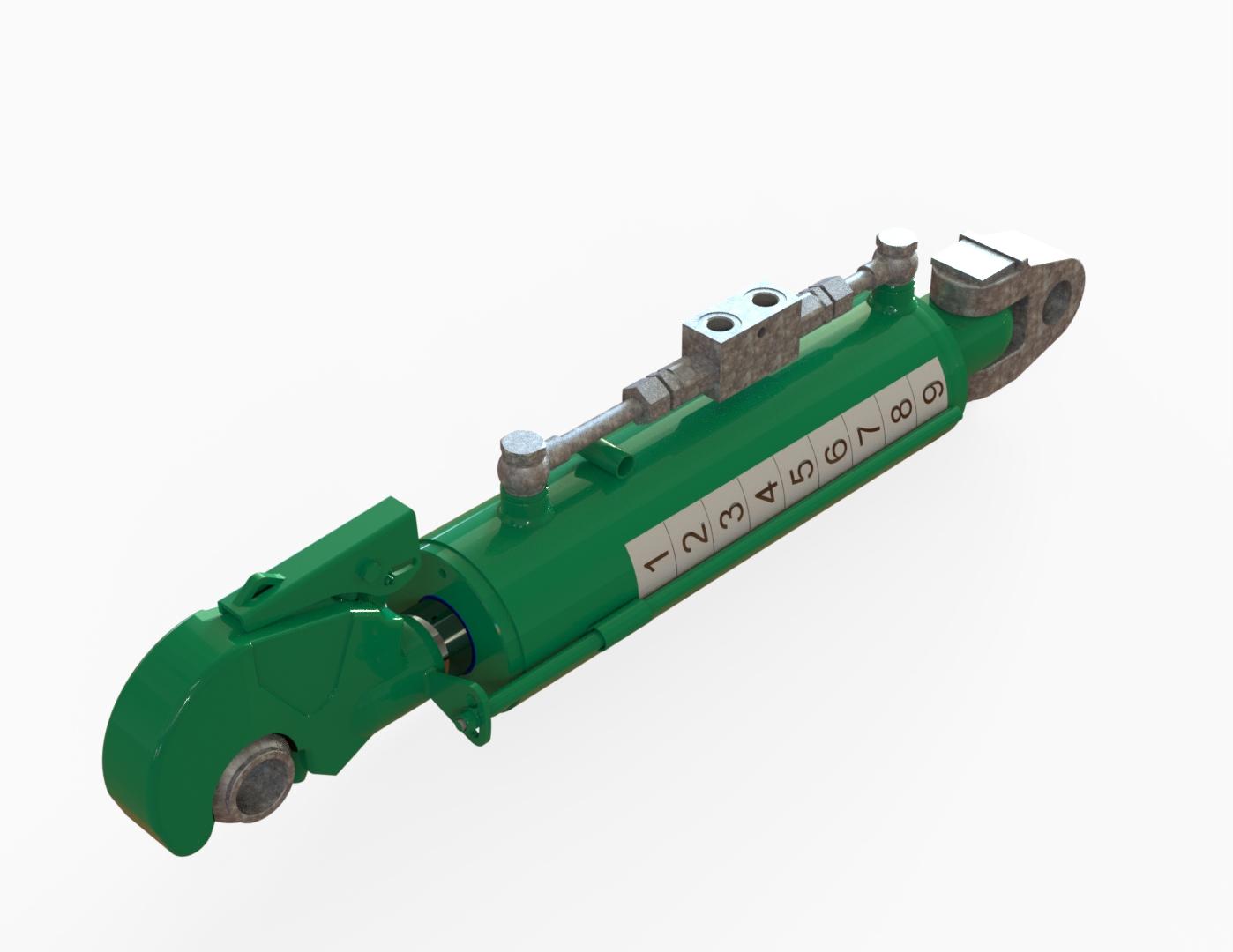 Oberlenker hydraulisch grün